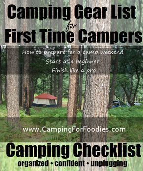 Photo of Camping Gear List For First Time Campers