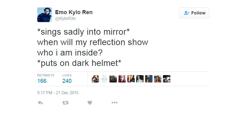 Emo Quotes About Suicide: Emo Kylo Ren - Google Search