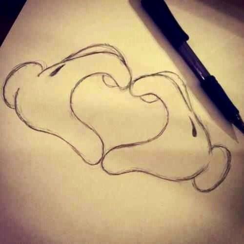 Výsledek obrázku pro drawing tumblr love