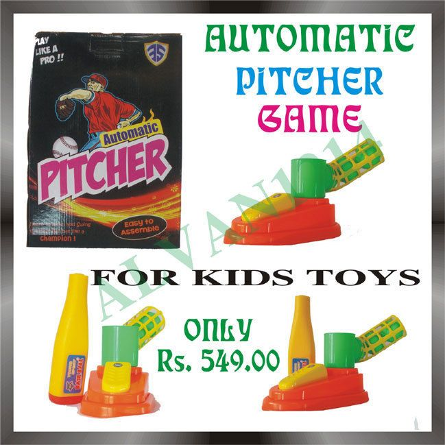 Latest Pitcher Game Bat Ball Without Bowler Birthday Gift Boy Kids Outdoor