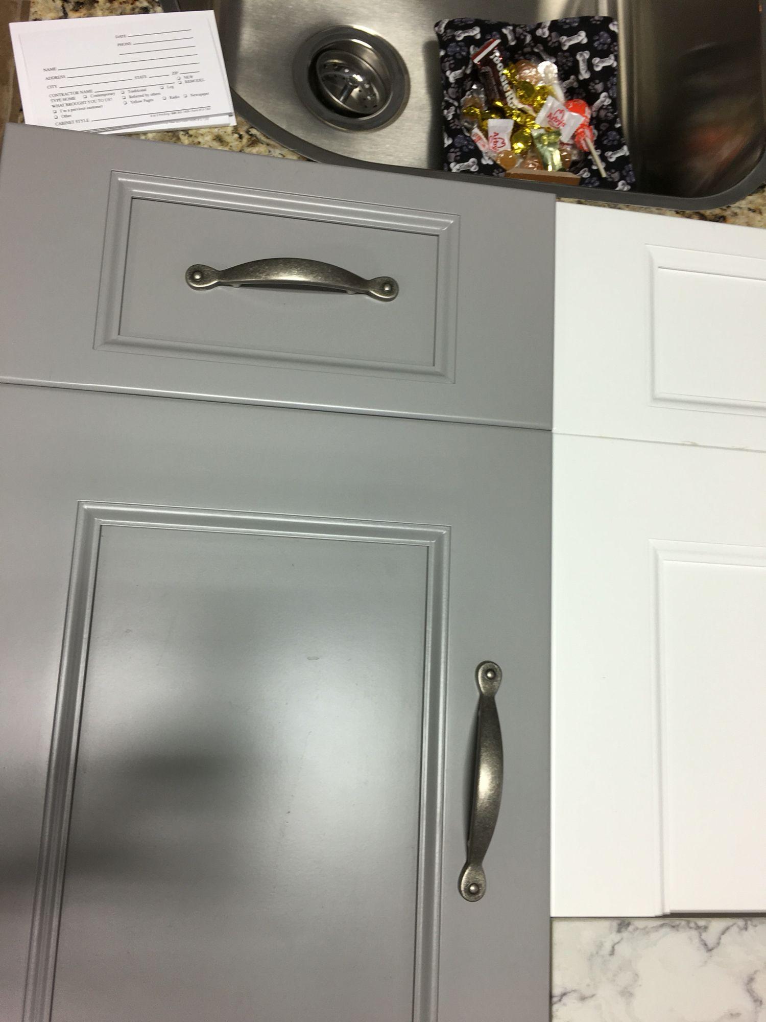 Fabuwood Nexus Slate Grey Kitchen Cabinets Grey Kitchen Kitchen Cabinets