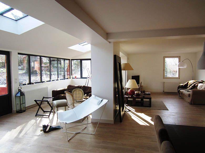 Extension agrandissement d 39 une maison initiales extension verri res v randas home home - Agrandissement maison veranda ...