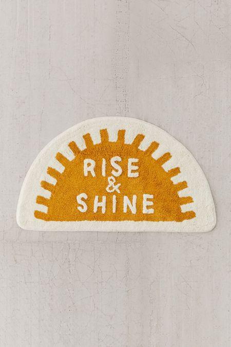 Rise And Shine Bath Mat In 2019 Home Decor Diy Bath