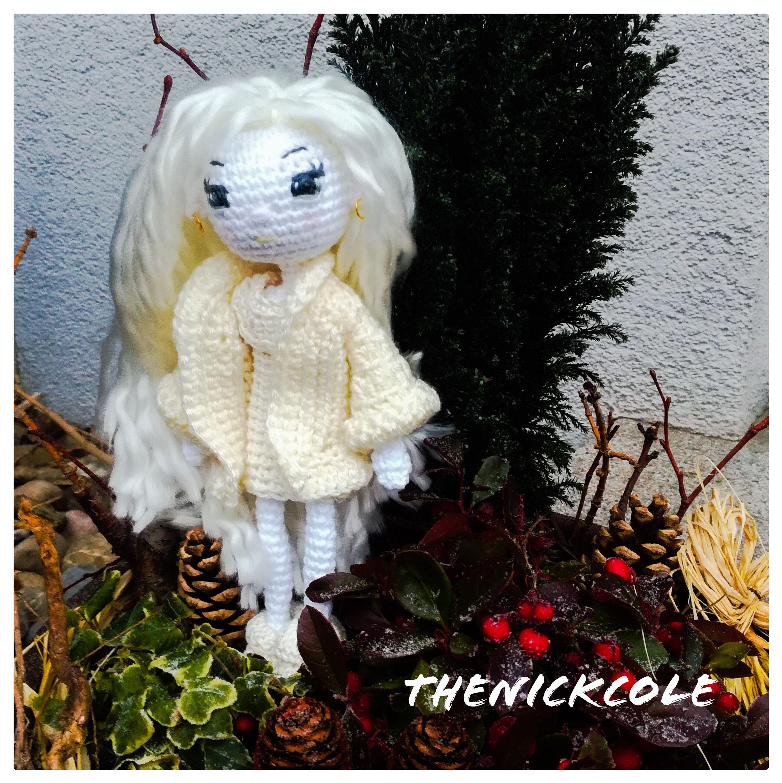 Handmade Crochet Dolls by LinaMarieDolls on Etsy Follow me on ... | 2586x2584
