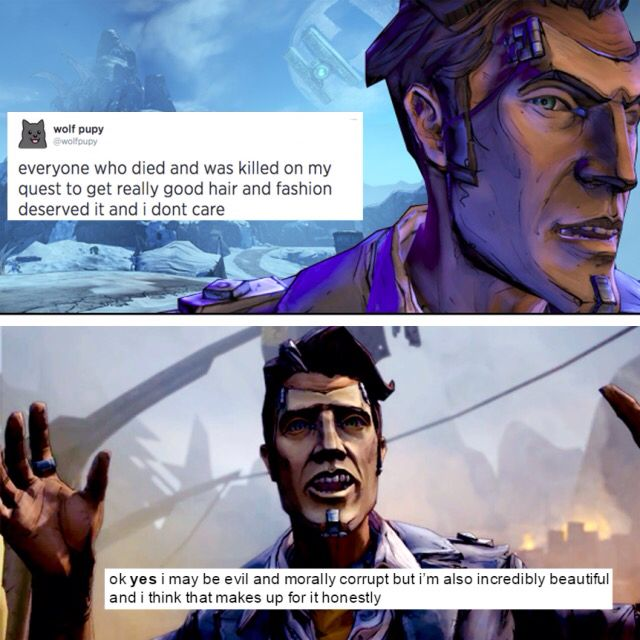 Handsome Jack Text Post Borderlands Handsome Jack