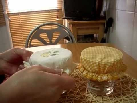 Como hacer gorritos de tela para tapar vasos youtube - Como hacer cuadros de tela ...