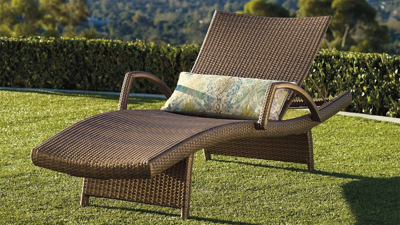 Balencia chaise lounges with arms set of two frontgate
