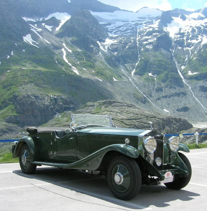 Rolls Royce Phantom II 1933 Alpine Tourer Maintenance of old ...