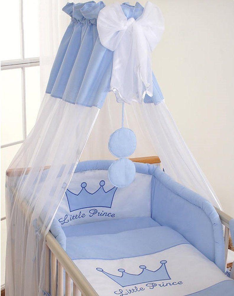 tour de lit b b 120 60 ou 140 70 prince bleu. Black Bedroom Furniture Sets. Home Design Ideas