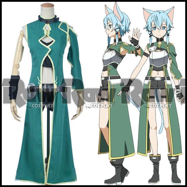 Sword Art Online 2 GGO Pistola Gale Asada Shino Personajes Trajes Anime ALO Phantom Bullet