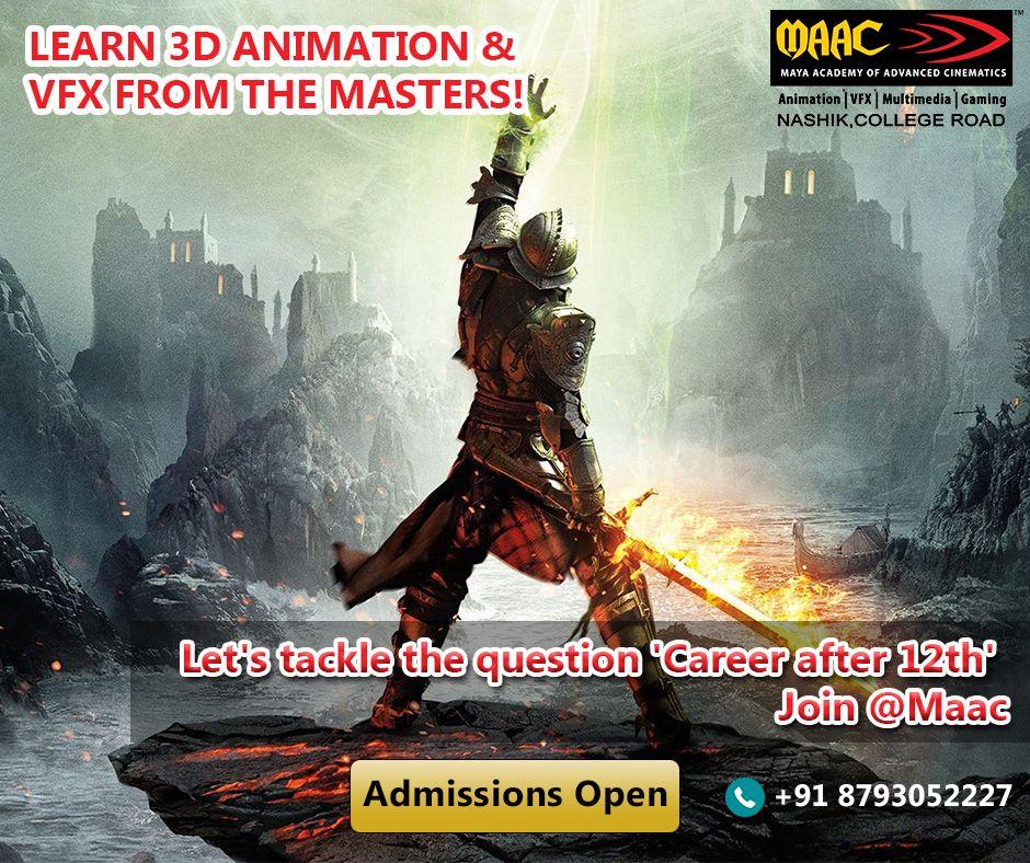 MAAC Animation Maya Academy of Advanced Cinematics