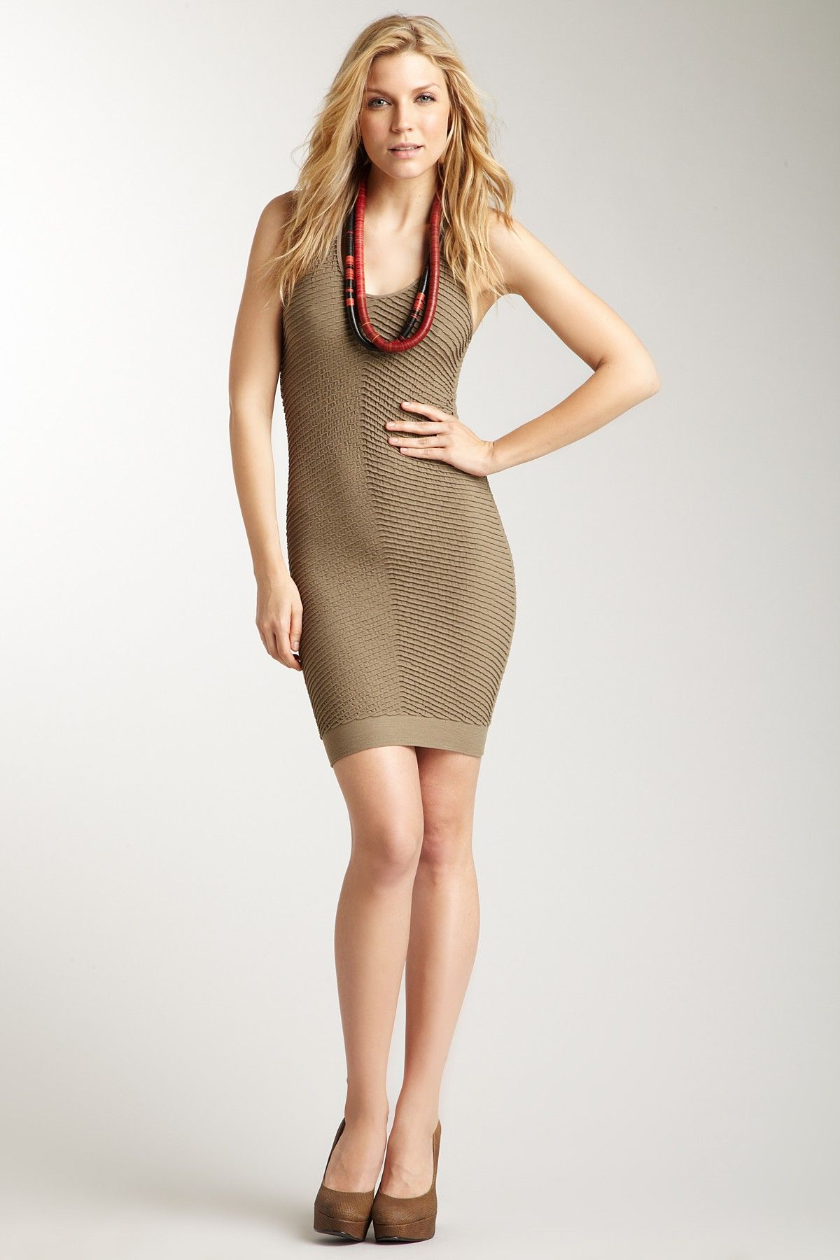 Taupe Fitted Racer Back Dress Racerback Dress Dresses Casual Chic Style [ 1800 x 1200 Pixel ]