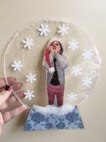 boules à neige pour Noël #bouledenoel boules à neige pour Noël - La classe de Teet et Marlou #floconsdeneigeenpapier