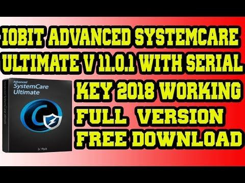 Advance System Care Ultimate with Serail Key 2018 | Full