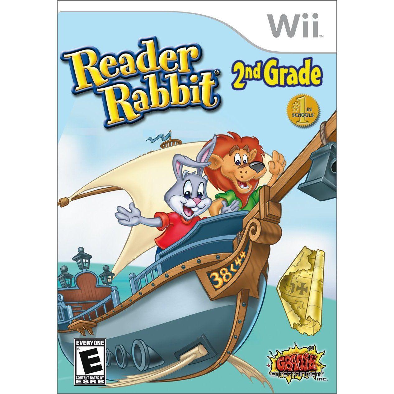 Wii Reader Rabbit 2nd grade Wii, 2nd grade, Nintendo wii