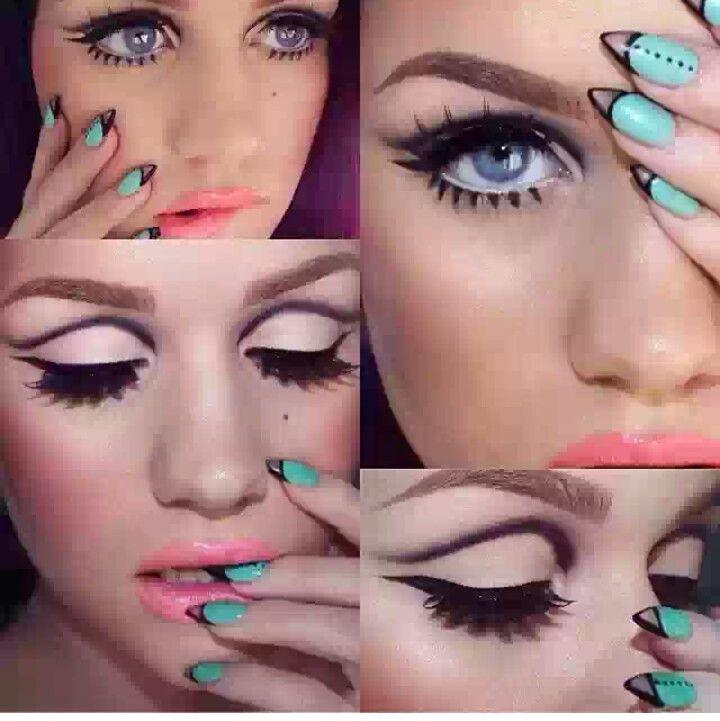 60s makeup … …   Pinteres…