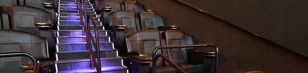 The VIP theatre @ our Jordan Commons location    Things We