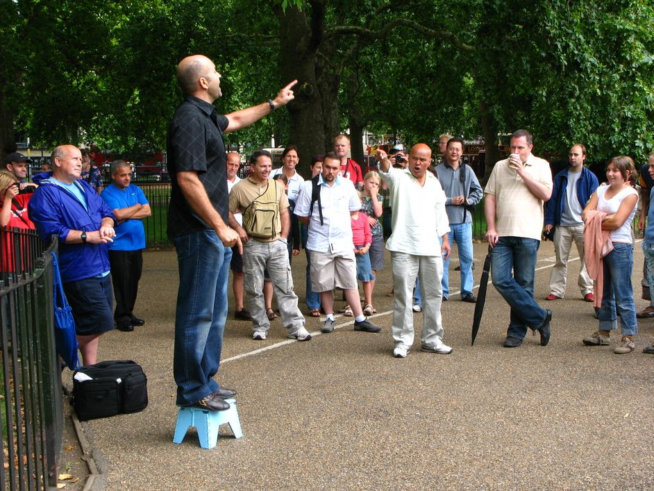 Resultat d'imatges de speaker's corner london
