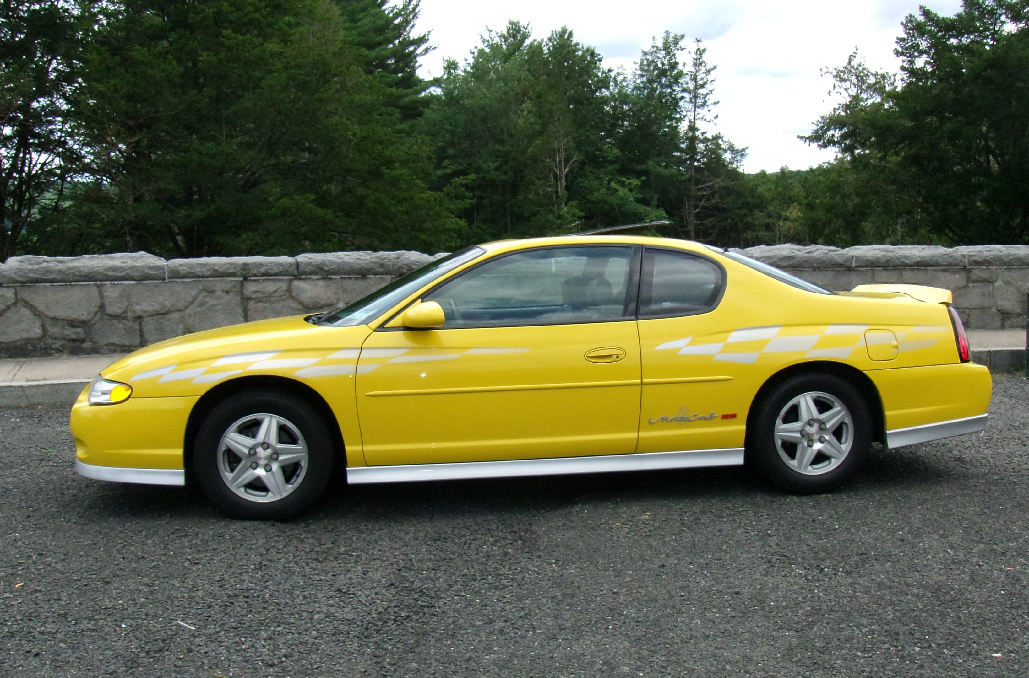 2002 Monte Carlo Ss Pace Car Chevrolet Chevy