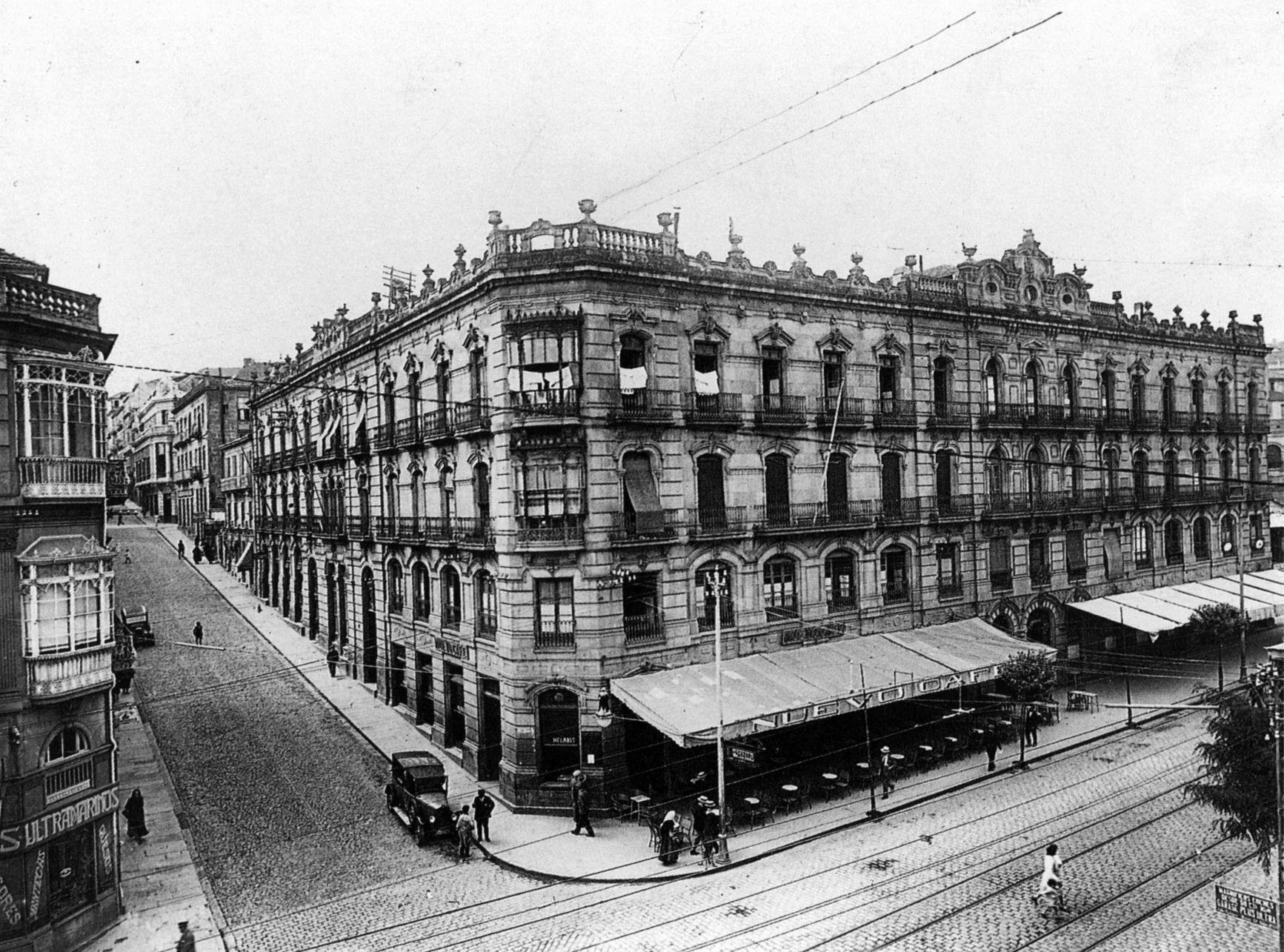 Rúa Velázquez Moreno. Sobre 1928