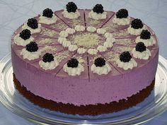 Brombeer-Joghurt-Torte von kleinehobbits | Chefkoch #brombeerenrezepte