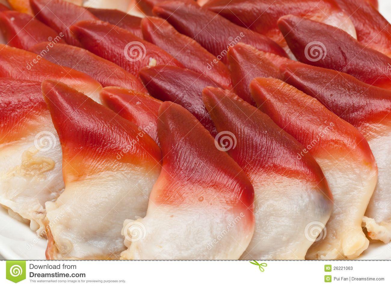 surf clam sashimi | Raw Sashimi Arctic Surf Clams was ...