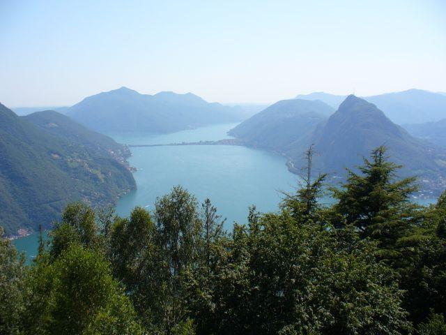 View from Monte Brè