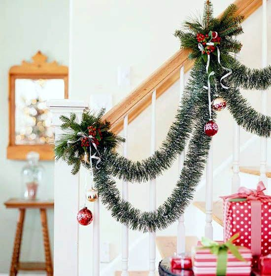 christmas-garland-ideas-18 New Year  Christmas - decor