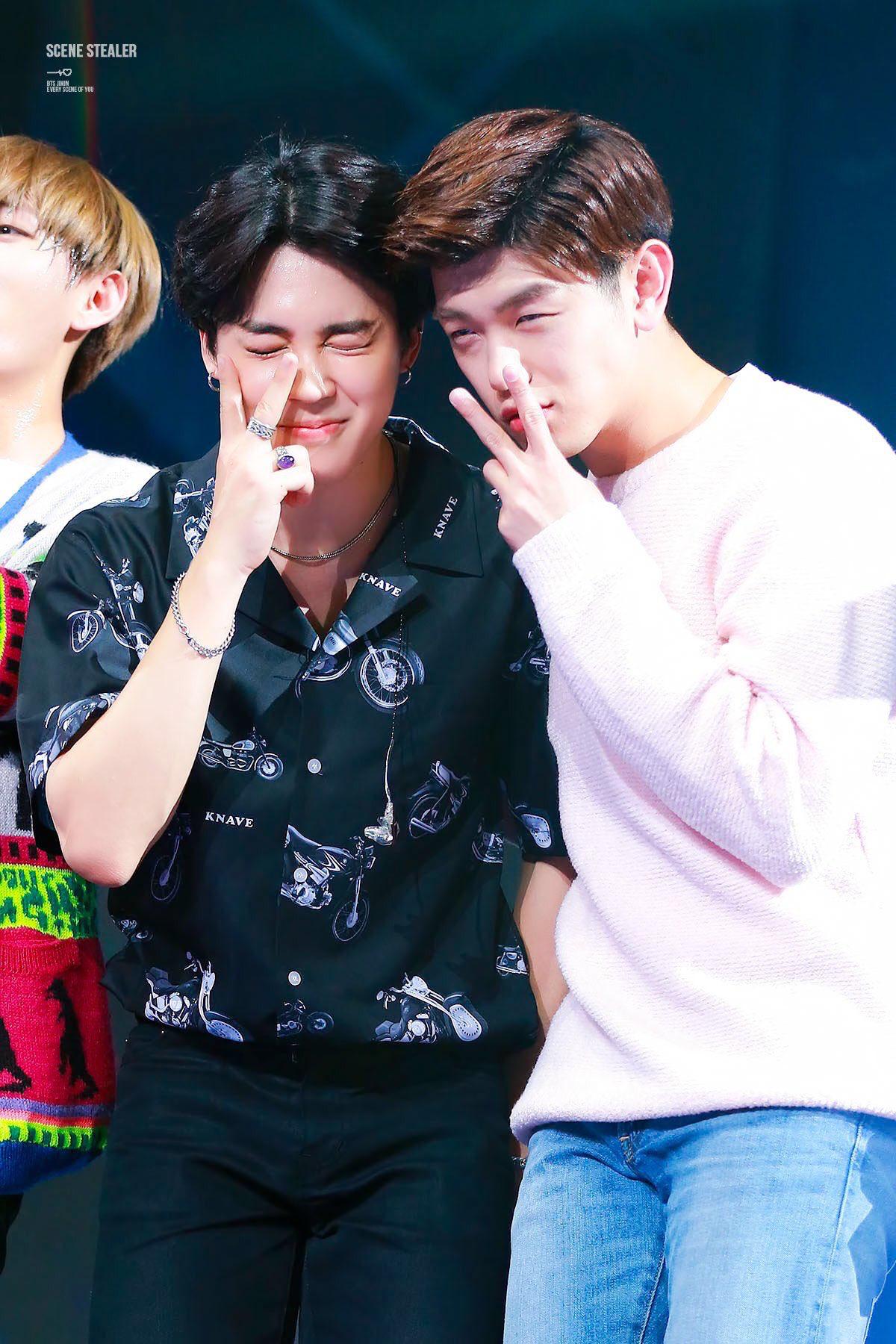 Jimin And Eric Nam Eric Nam Kpop Guys Eric
