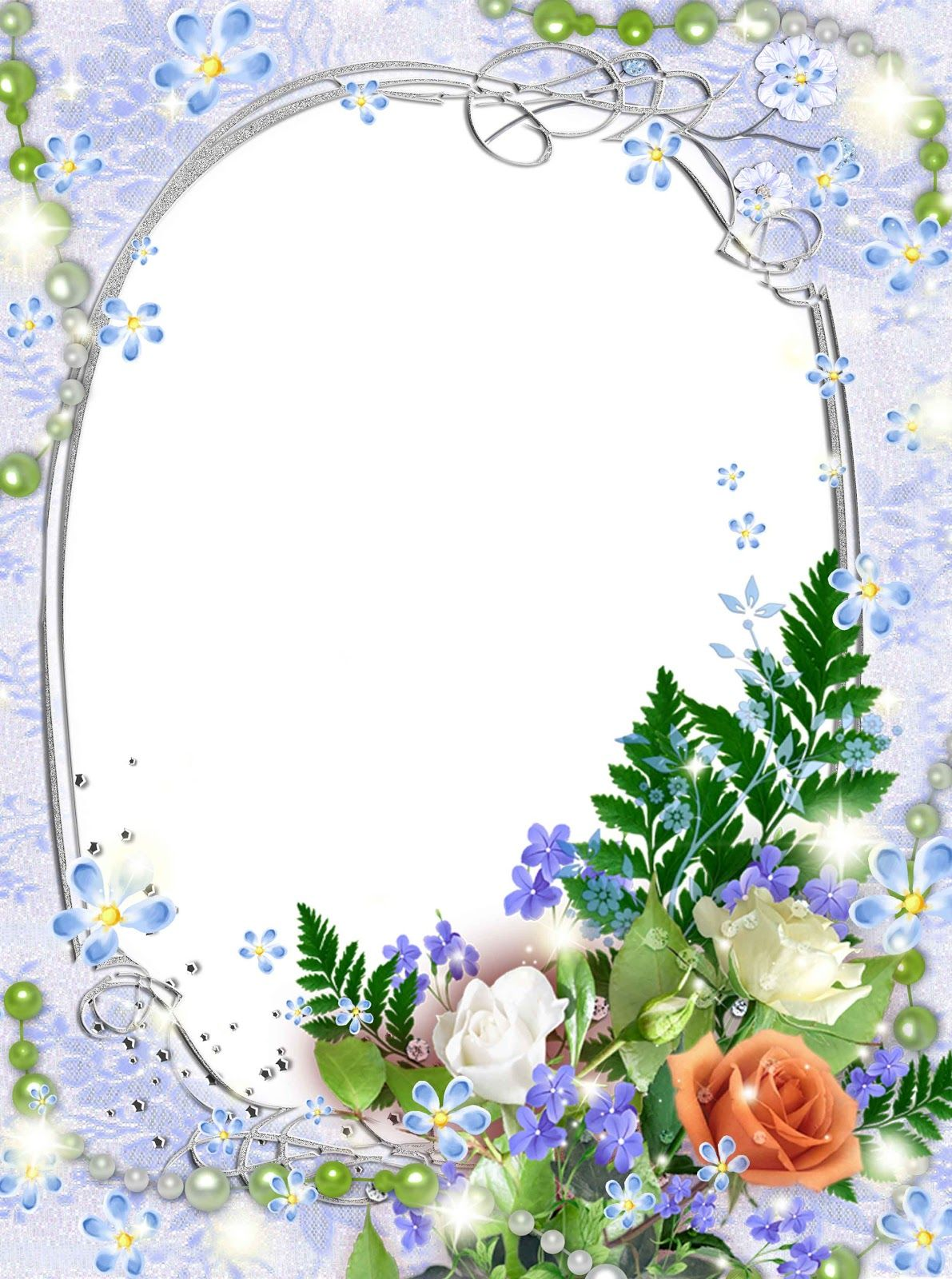 flower-photo-frames-psd-free-download-3 | FRAMES and CORNERS 1 ...