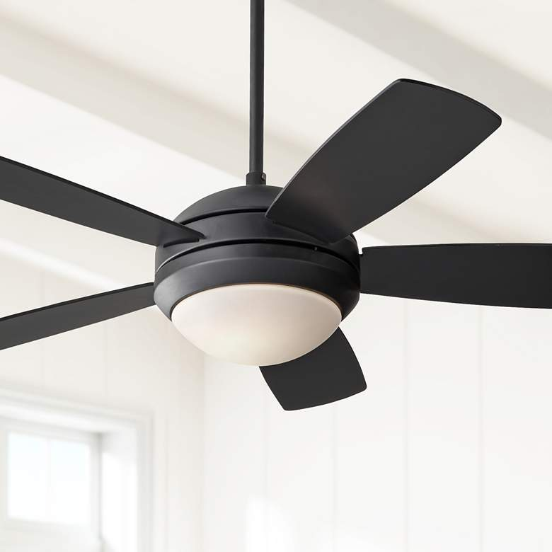 44 Monte Carlo Discus Ii Matte Black Ceiling Fan 7r194 Lamps Plus Ceiling Fan Black Ceiling Fan Lamps Plus