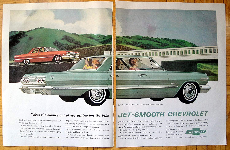 Amazon Com 1963 Chevrolet Impala Sports Sedan Bel Air 4 Door
