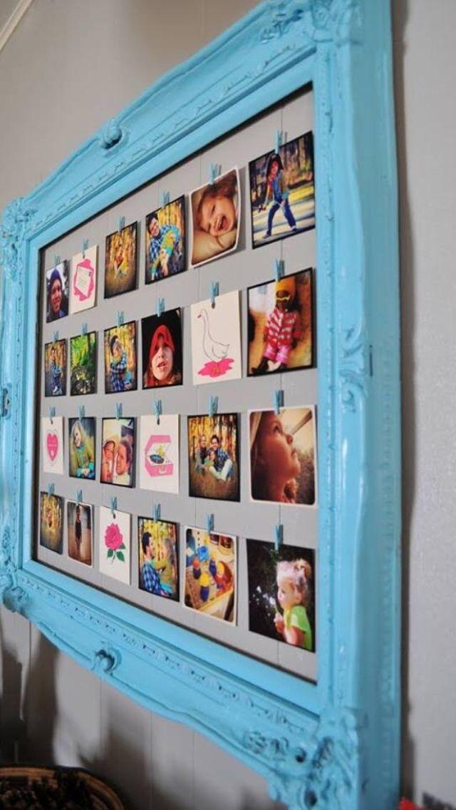 Picture frame border photo holder! | Preschool Ideas | Pinterest ...