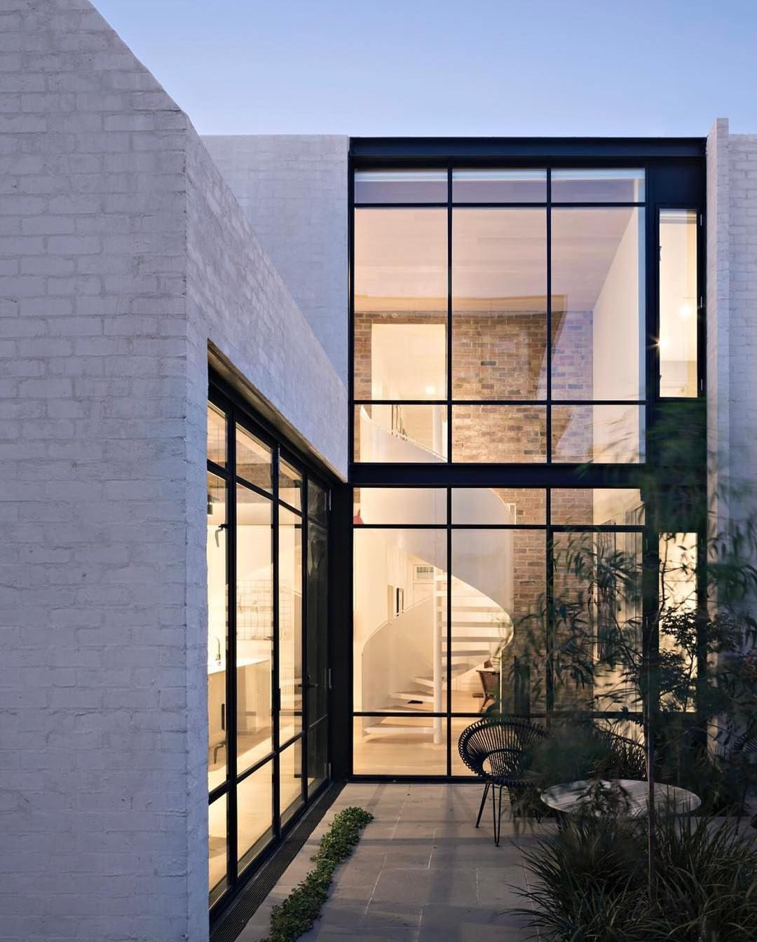 Exterior window wall design design interiors architecture thelocalproject on instagram
