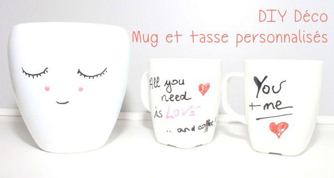 Préférence Découvrez comment facilement personnaliser un mug ou une tasse en  CA02