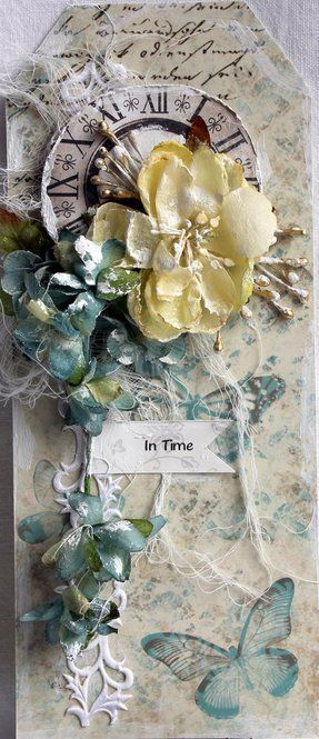 Card: In time by Michelle Frisby