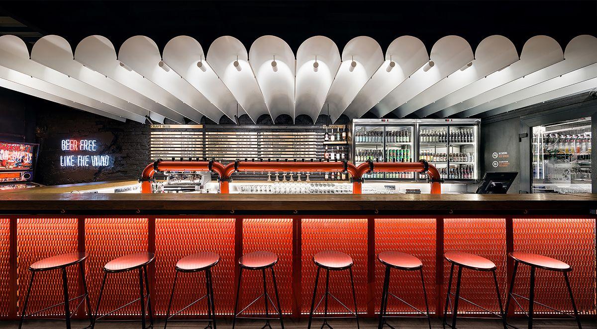 Punkraft On Behance In 2020 Pub Interior Craft Beer Bar Beer Bar