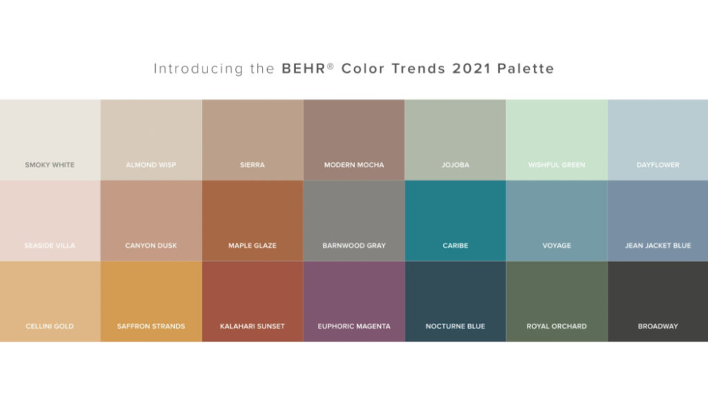 2021 color trends elevated comfort colorfully behr in on sherwin williams 2021 color trends id=12766