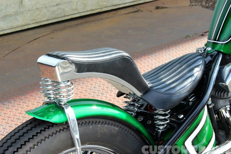 "Custom Harley-Davidson FXE ""Shovelhead"" rigid chopper by"