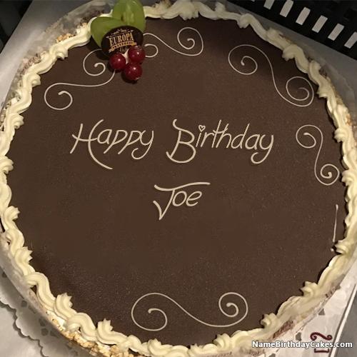 Happy Birthday Joe - Video And Images in 2019   Name Happy Birthday ...