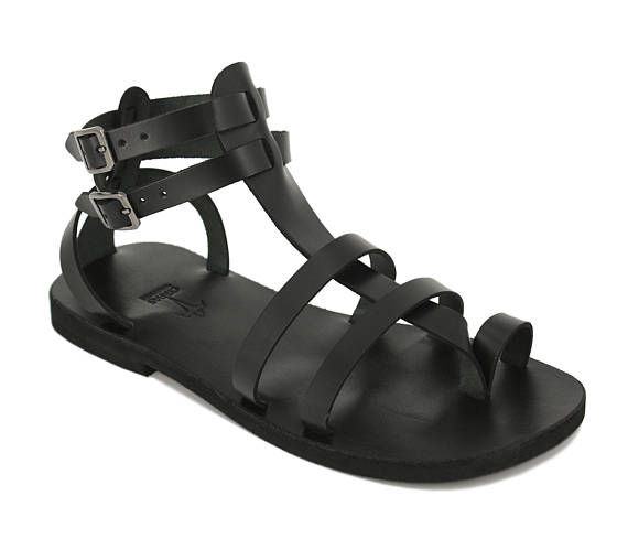 Choose From Many Styles And Sizes Of Home Plans With A: Unisex Leather Sandals/gladiator Greek Roman
