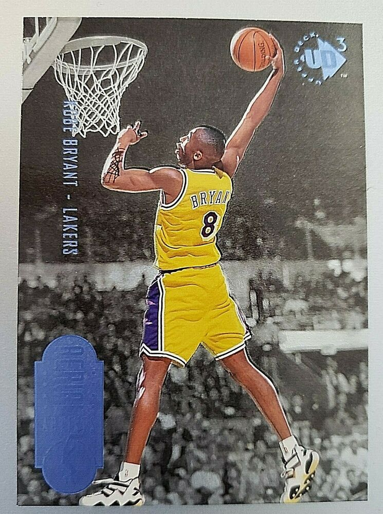 199697 ud3 43 kobe bryant rookie card losangeleslakers