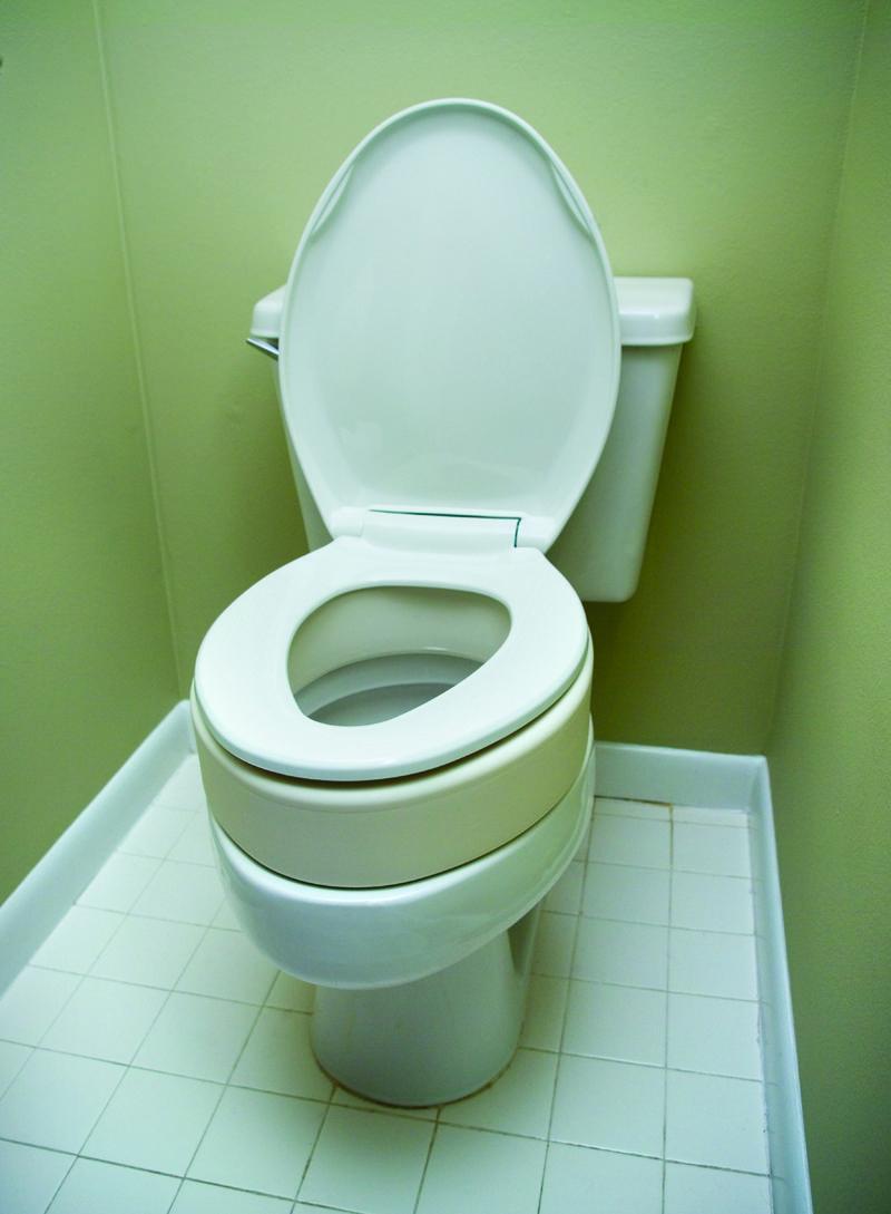 Toilet Seat Riser For Elongated Size Bowl B5081 Gold Medical Supplies Toilet Toilet Seat Medical Equipment Storage