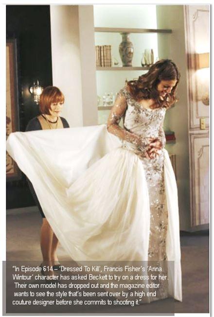 Wedding Looks Dress Like Kate Beckett Castle Wedding Dress