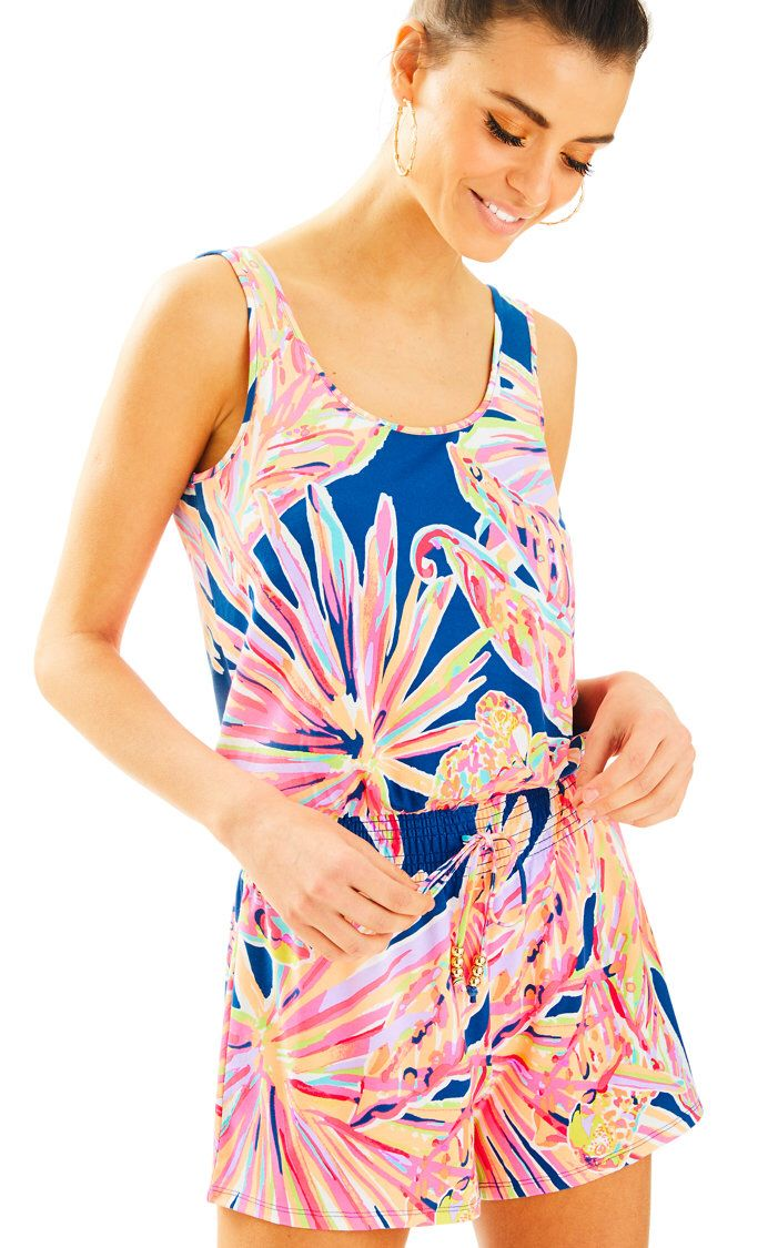 ddd7cbc007fd4c Check out this product from Lilly - Tala Romper https://www.lillypulitzer