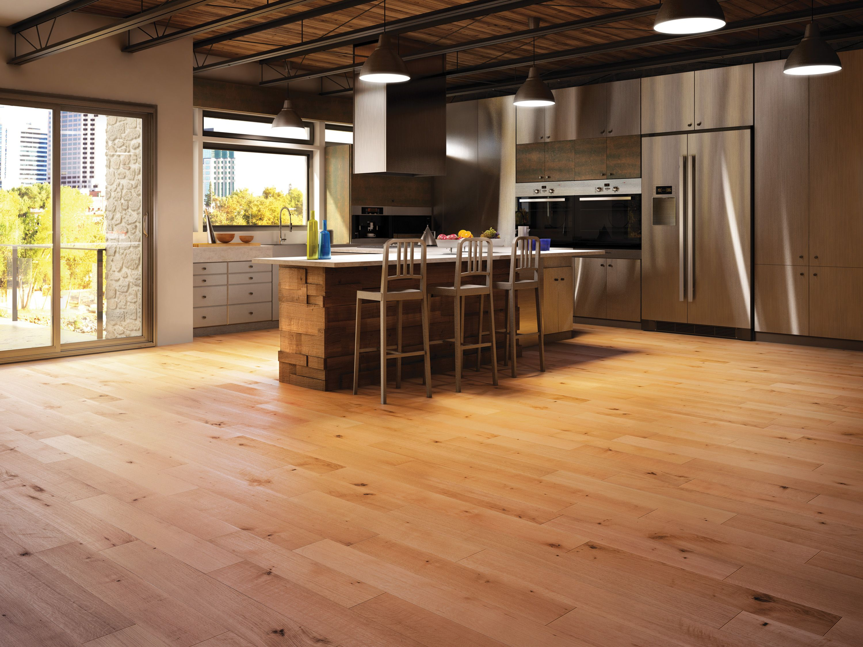 Old White Oak R Natural Collection by Mirage Floors