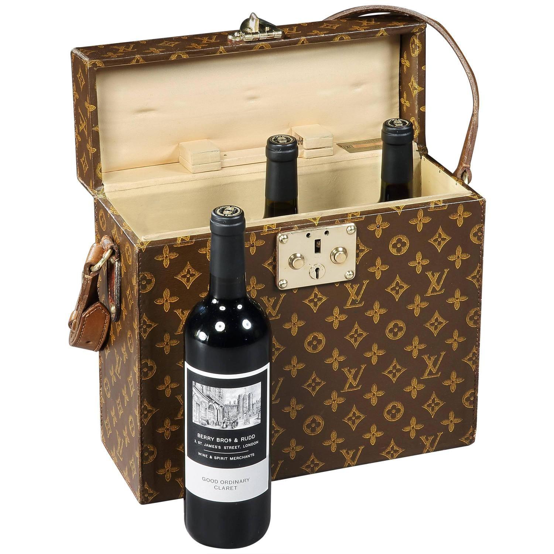 Louis Vuitton Wine Bottle Carrier 1930s Wine Bottle Carrier Bottle Carrier Wine Bottle