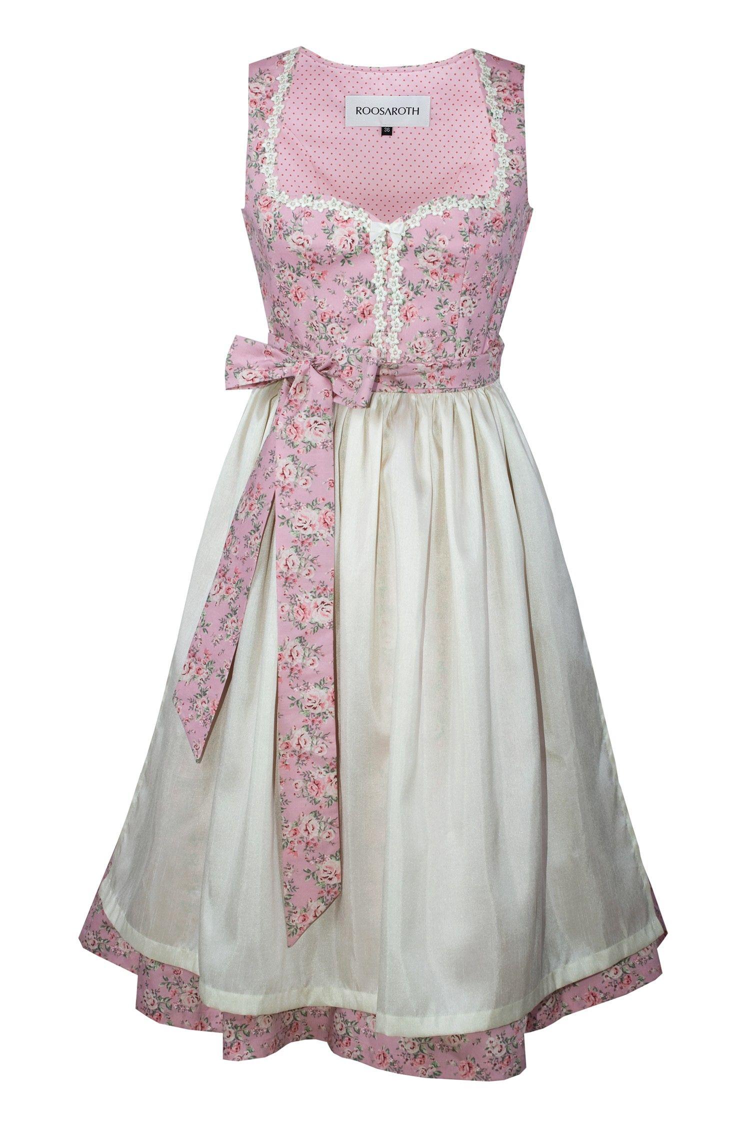 af592eeaaff63 Dirndl FIORE ROSÈ   ROOSAROTH - Dirndl Couture   S❤   Trachten ...