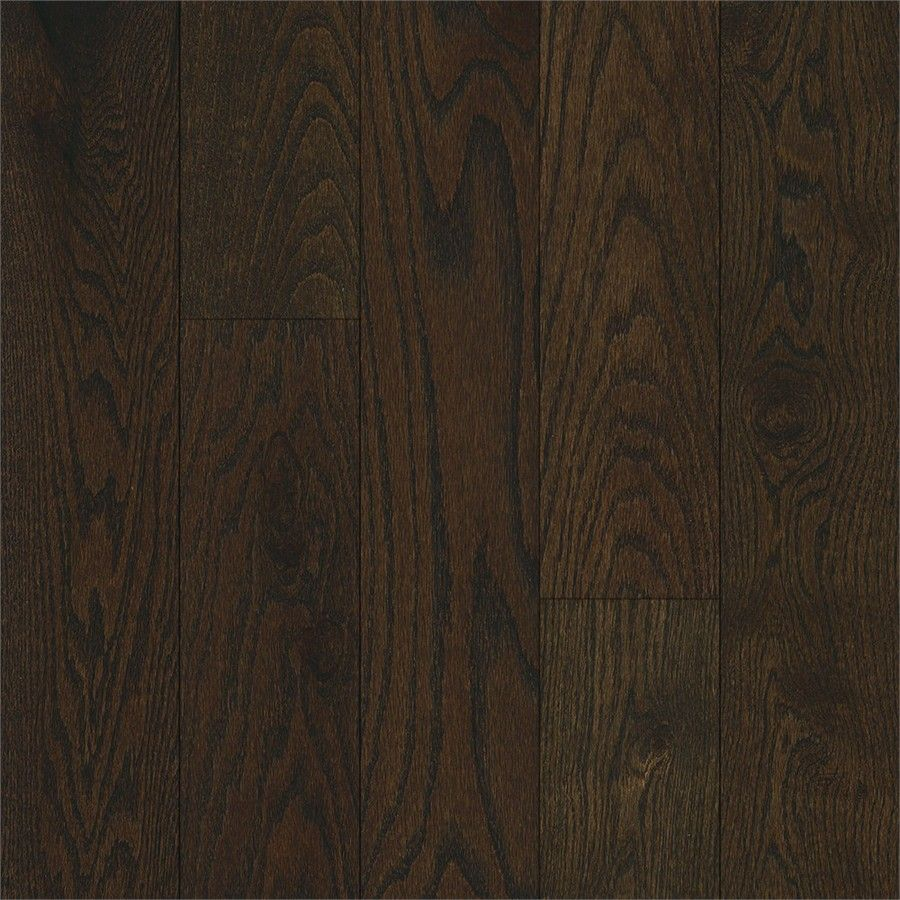 Bruce America S Best Choice 5 In W Prefinished Oak Hardwood Flooring Mocha Java At Lowes