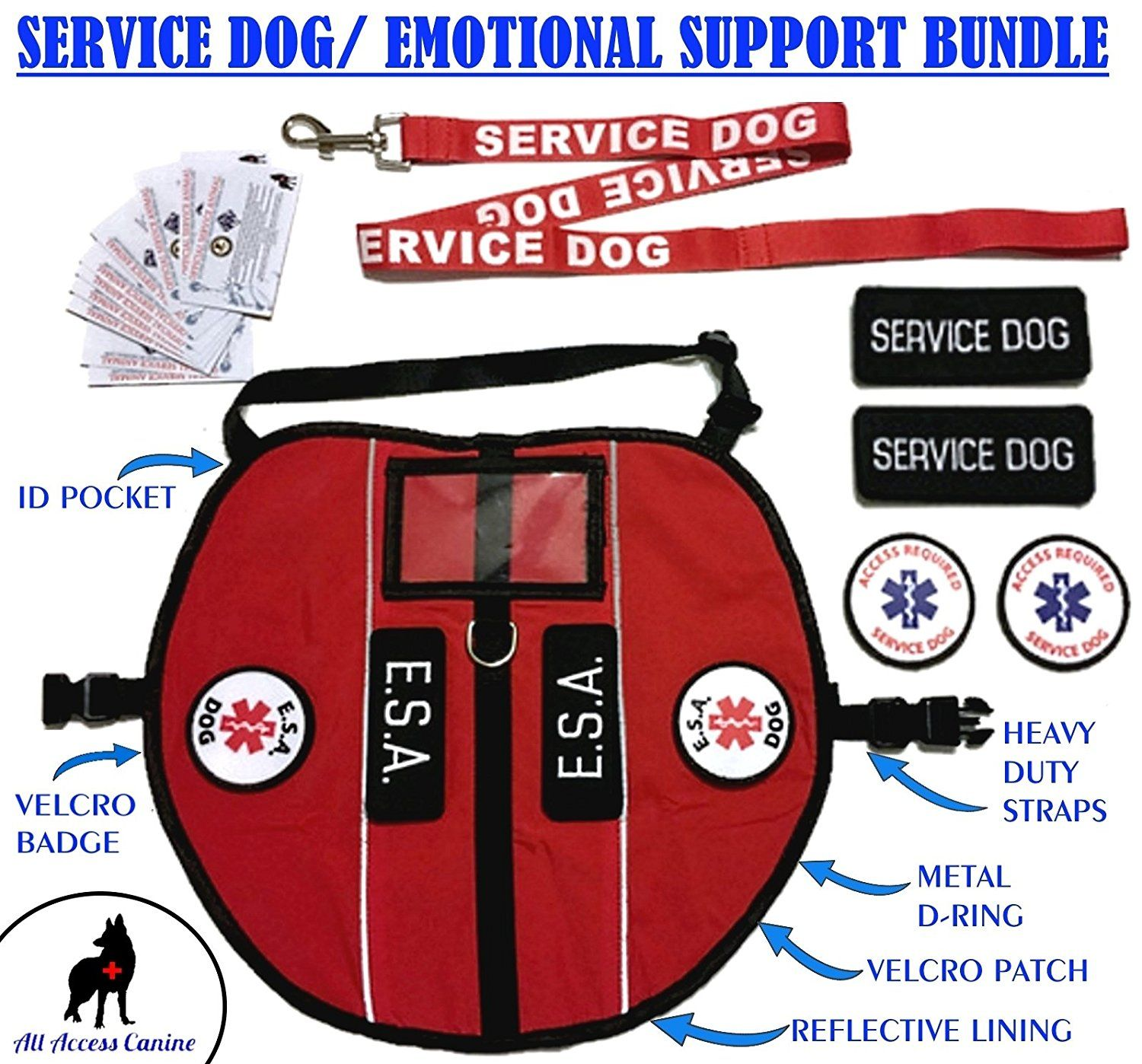 ALL ACCESS CANINE Emotional Support Animal ESA Dog and
